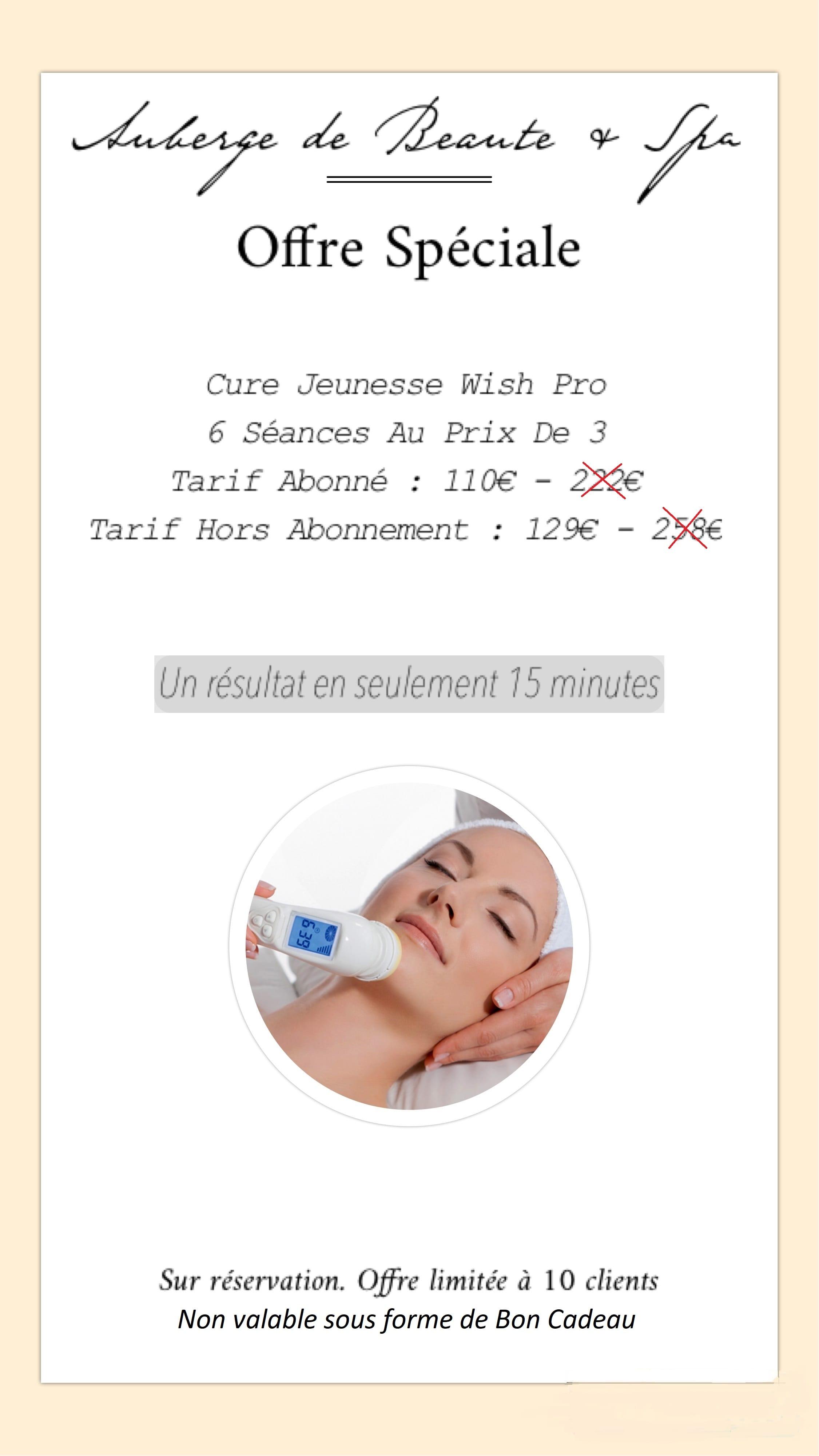L 39 offre du mois auberge de beaut spa - Auberge de beaute et spa salon de provence ...